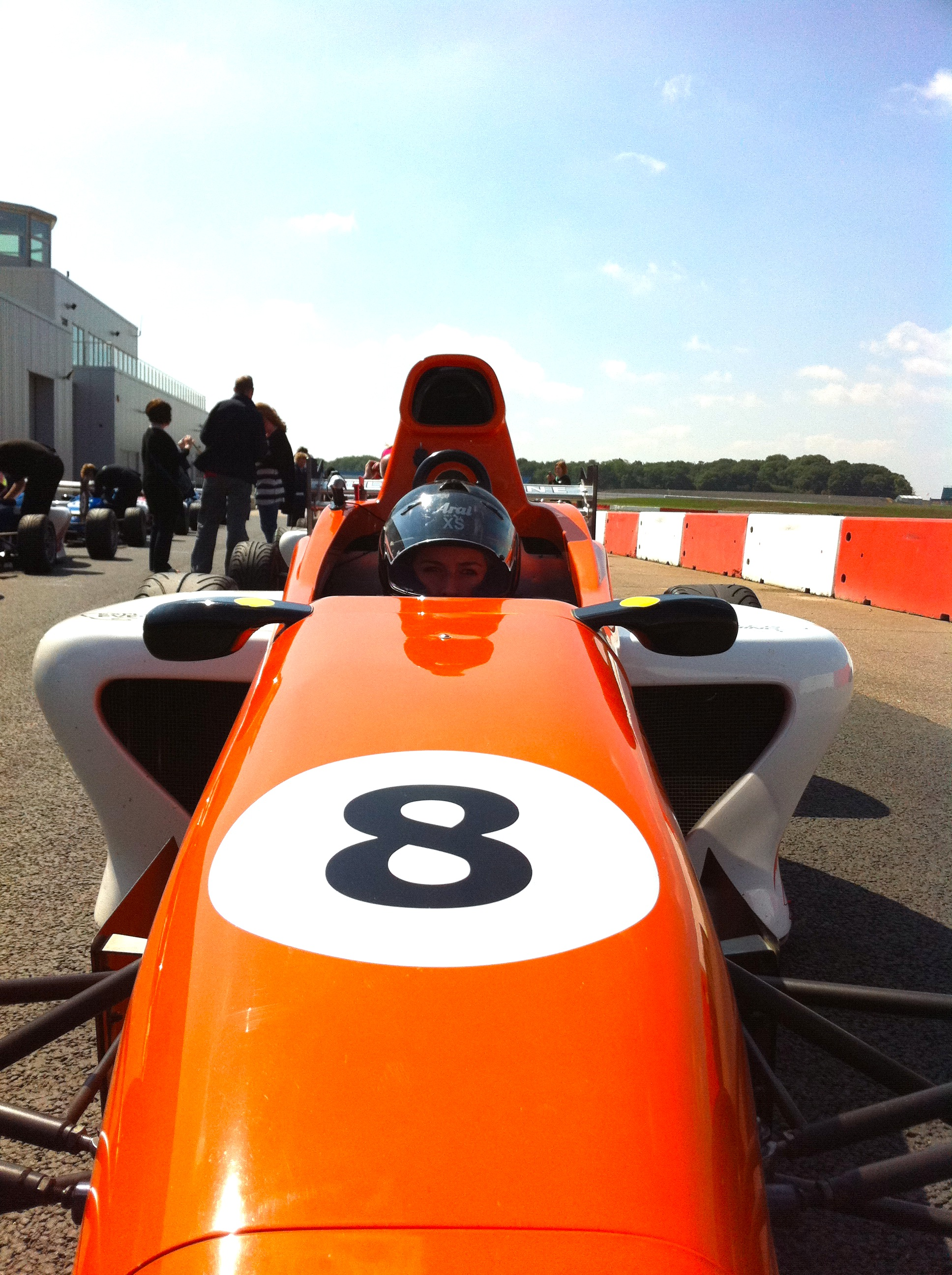 SINGLE SEATER RACING AT SILVERSTONE