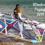 Taking new Fanatic 2011 sails for a spin