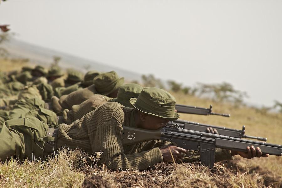 Anti Poaching training – Ol Pejeta, Kenya