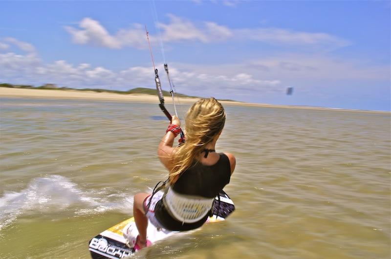 Kitesurfing - Kizingoni Beach, Kenya