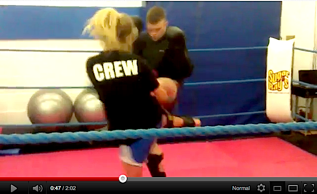 Video of my 1st  Muay Thai sparring @ Evolve